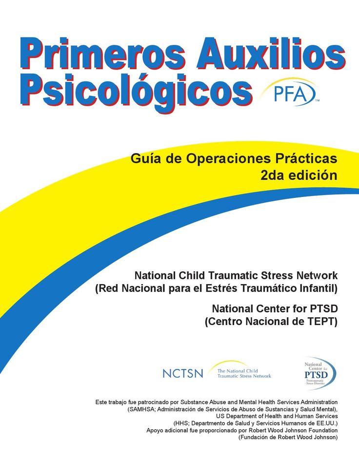 Primeros auxilios psicológicos libro