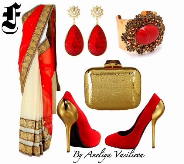 What To Wear To An Indian Wedding - South Asian Life I'll probably never be invited but oOOO I love the red!!!!!