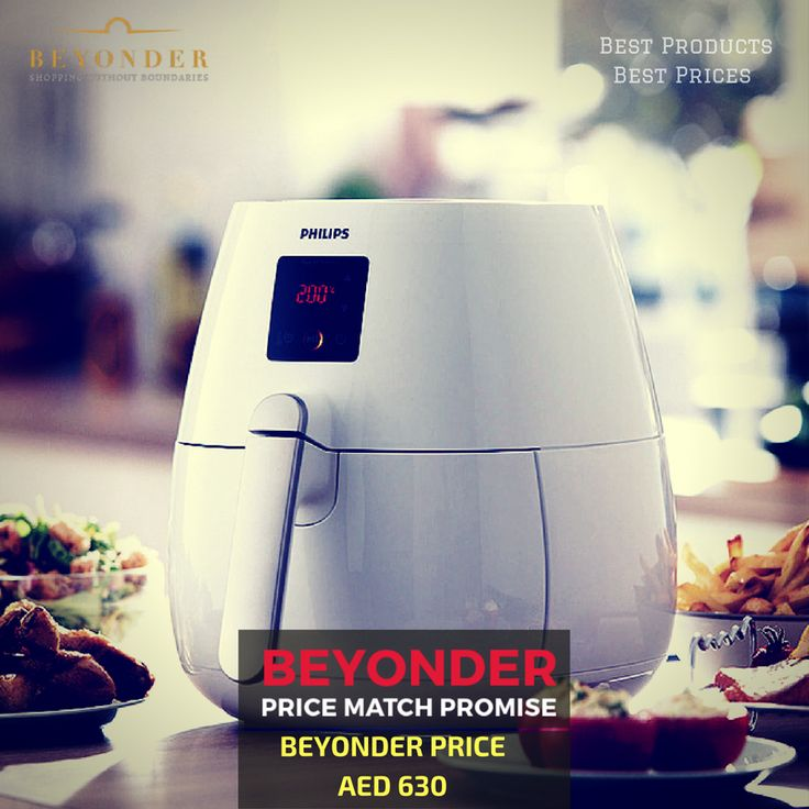 Shop for Home Appliances at lowest prices with our Beyonder Price Match Promise - Find a lower price? We will match the price  Shop with confidence at http://beyonder.co/consumers-appliances/philips-airfryers-hd9225