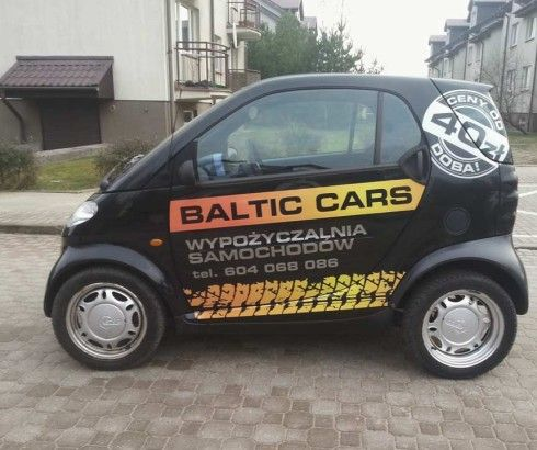 Smart 40 zł doba #balticcars
