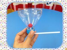 """Eugenia Romero del blog """"Mis manualidades con goma eva y otras cositas"""" ha publicado un vídeo donde explica cómohacer un juguete para practicar el soplo con materiales reciclados. Materiales: Una botella de plástico de agua vacía. Una pajita o cañita, flexible. Tijeras. Bolitas de papel. Procedimiento: 1.- Primero cortamos la …"""