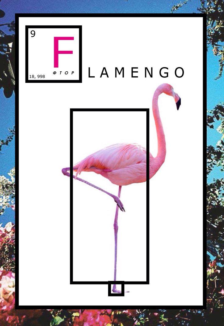 Graphic Design. Poster Flamengo