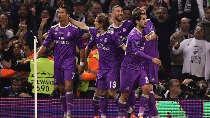 Final Liga Champions 2016/17: Cuplikan Gol Juventus 1-4 Real Madrid