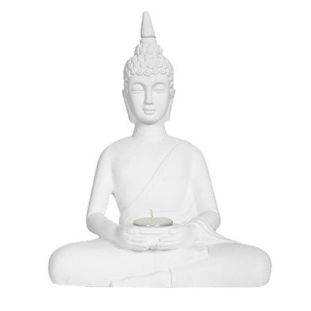 Add a touch of peace and tranquillity to your home with this Buddha accent. https://www.jossandmain.co.uk/View-from-the-East-Buddha-Borobudur-Statuette~CADX1707~E2520.html