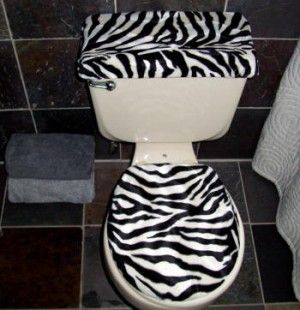 Image Detail for - Zebra Bathroom Accessories Ideas