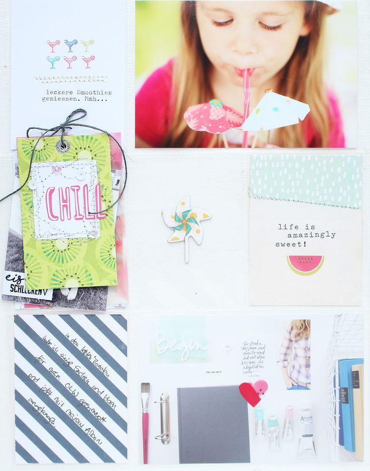 In der Inspirationsgalerie der Scrapbook Werkstatt könnt Ihr eine neuen Beitrag zu Project Life von mir finden.