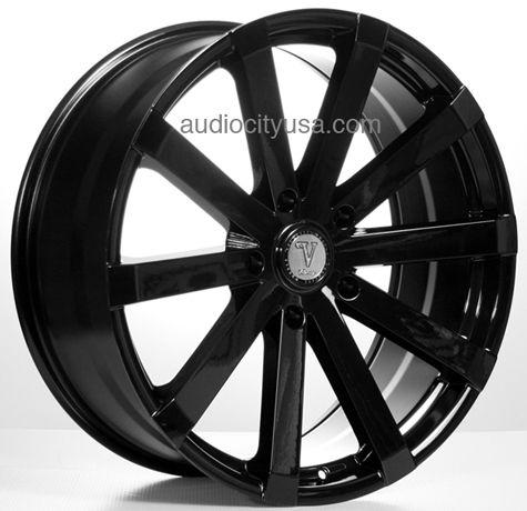 22 inch Velocity Wheels Rims VW12A Black for 5.150 Tundra ...