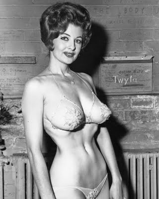 Tempest Storm has proven to be just about the longest lasting person in the world of Burlesque, having begun in the early 1950's and who is still performing today. Storm had had an interesting life, but my personal favorite fact about her is that at one time Storm was married to Herb Jeffries, films first black cowboy movie star.