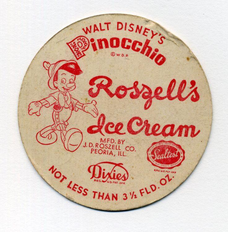 vintage retro cartoons | Vintage Cartoon Ice Cream Packages