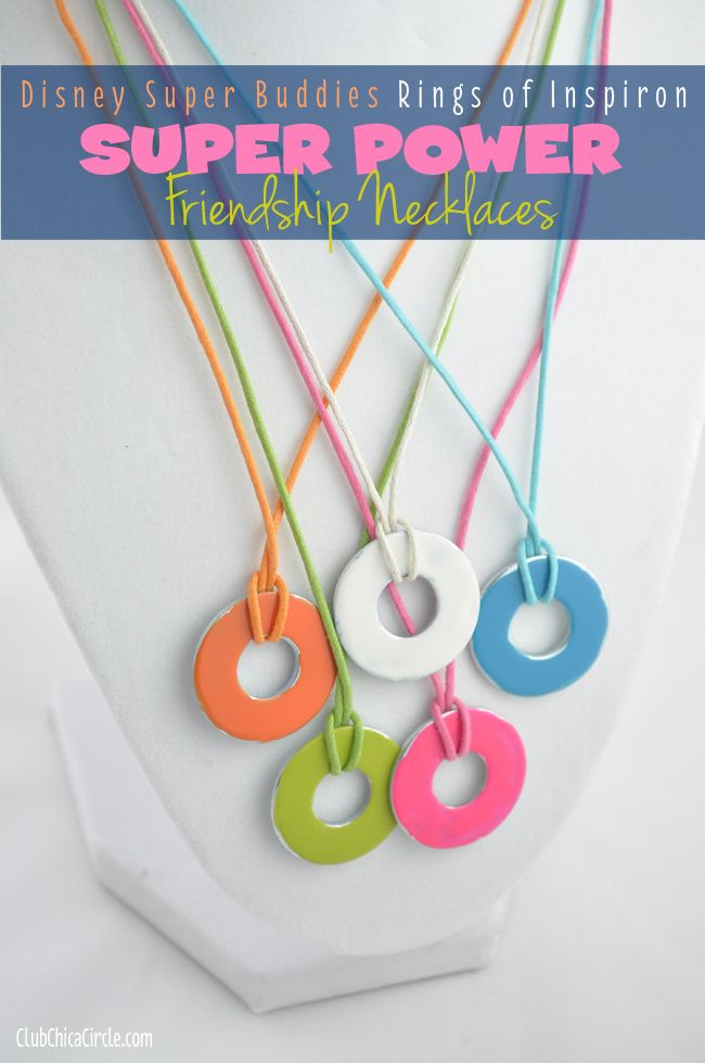 Rings of Inspiron Friendship Necklaces Craft Idea DIY