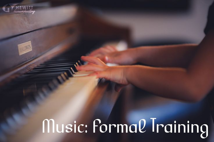 Music: Formal Training