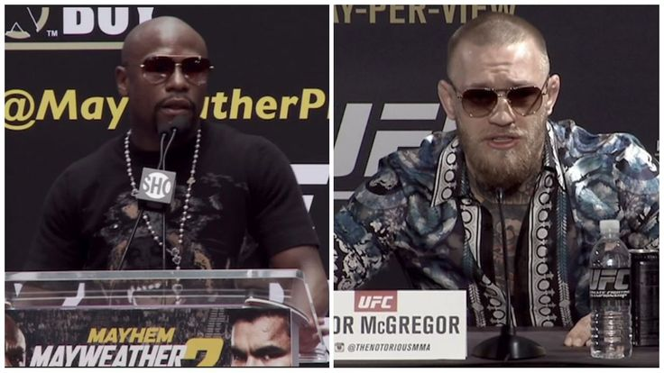 What a Mayweather-McGregor news conference might look like - ESPN Video