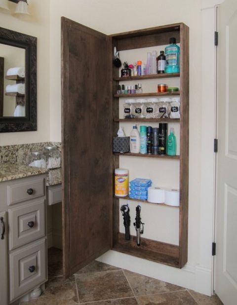 ComfyDwelling.com » Blog Archive » 15 Smart And Space-Saving DIY Bathroom Storage Items