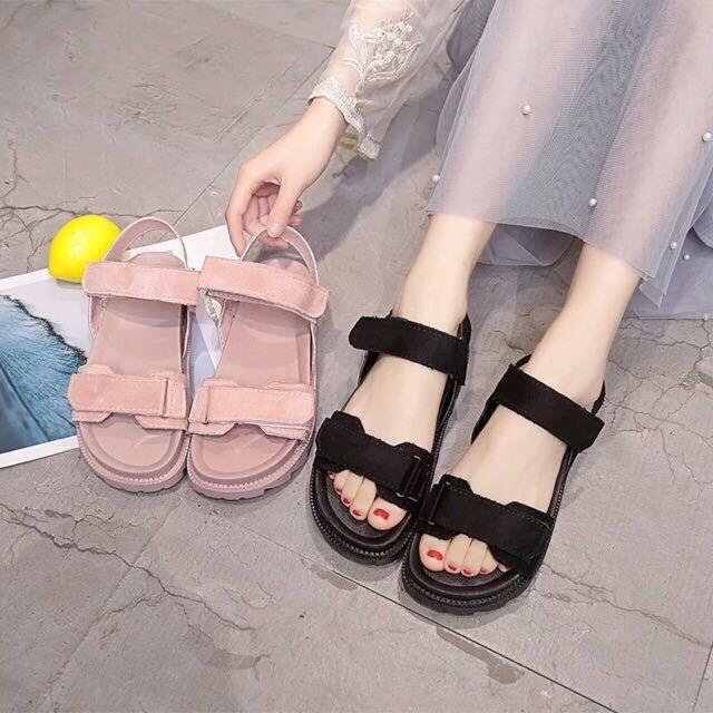 platform muffin shoes sandals