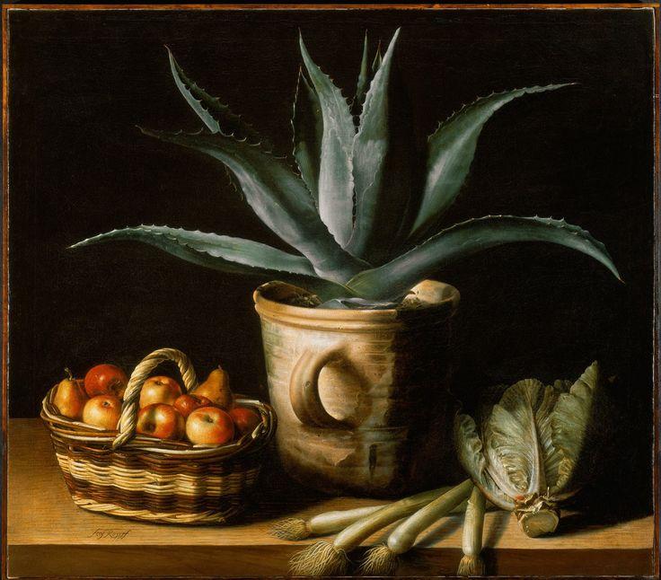 Sébastien Stoskopff (1597-1657) - Still Life with Aloe Vera