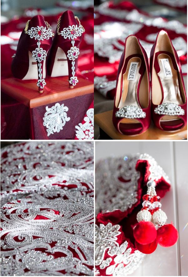 indian-weddings-bridal-shoes-gold-glitter-heels Lovely Indian bride wedding photography desi www.amouraffairs.in