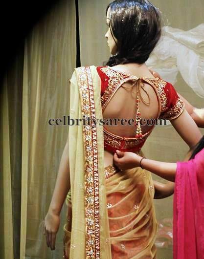 Ashwini Reddy Latest Blouse   Saree Blouse Patterns