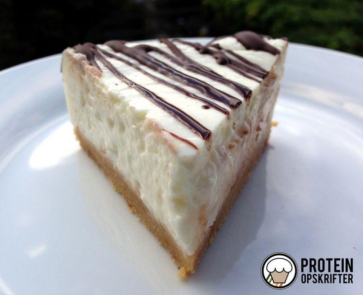 Opskrift på sund cheesecake (low carb  med højt proteinindhold)