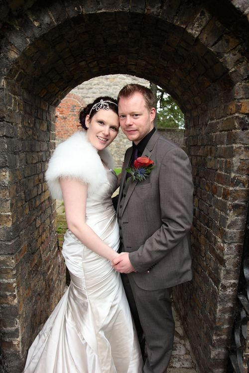 Married couple at Upnor Castle