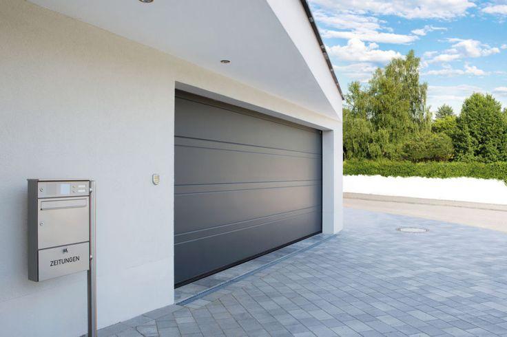 10 idées de portes de garages moderne...Porte de garage moderne, Superior +42, modèle Flair (crédit photo Normstahl)