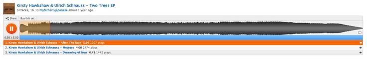 ▶ Kirsty Hawkshaw & Ulrich Schauss - After The Rain by myfatherisjapanese    (via http://soundcloud.com/tracks/search?q%5Bfulltext%5D=ulrich+schnauss+%5Btype%5D=%5Bduration%5D= )