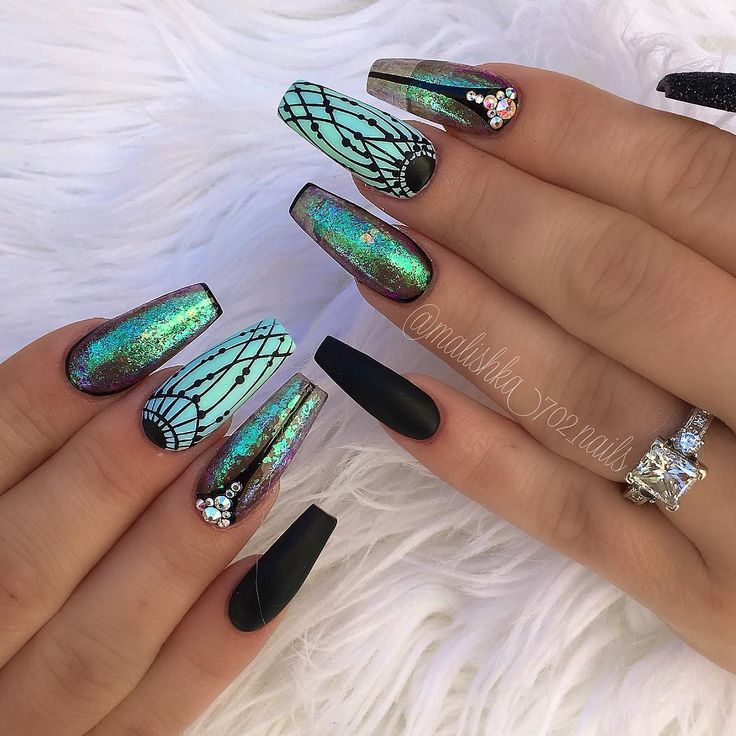 "3,869 Likes, 33 Comments - Ana karpova (@malishka702_nails) on Instagram: ""Nails by Gaby!"""
