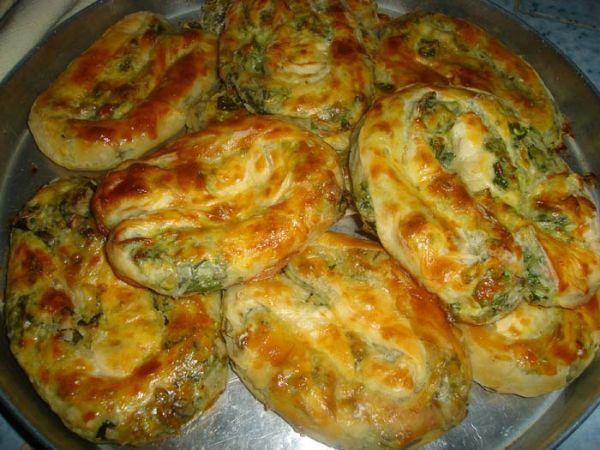 Ispanaklı Börek, Ispanaklı Yufka Böreği Tarifi Hamuru