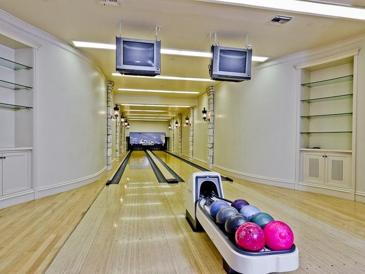 97 Best Luxury Living Home Bowling Alley Images On Pinterest