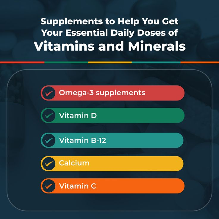 Supplements to Help You Get Your Essential Daily Doses of
