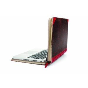 Twelve South BookBook 13 inch Hardback Leather Case for 13 inch MacBook/MacBook Pro - Red: Amazon.co.uk: Computers & Accessories