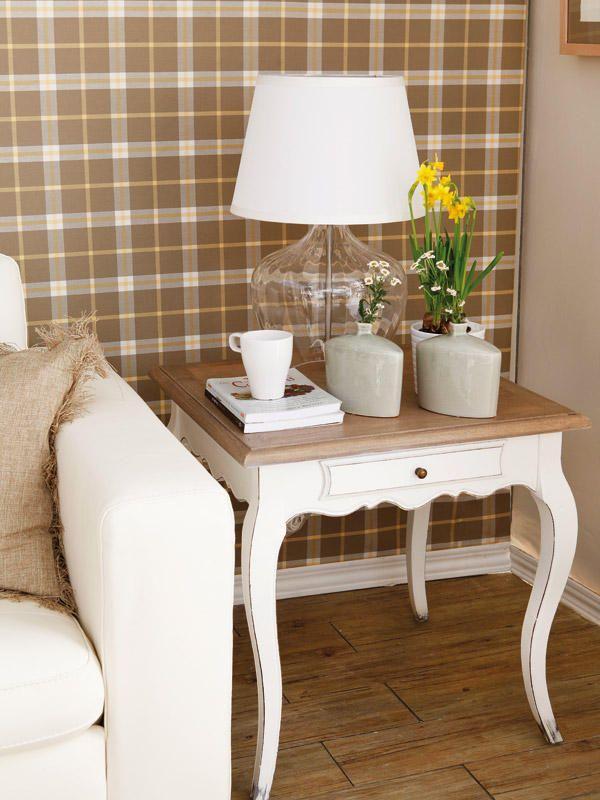 M s de 1000 ideas sobre sala de estar vintage en pinterest mesas de centro de puerta - Mesitas auxiliares originales ...