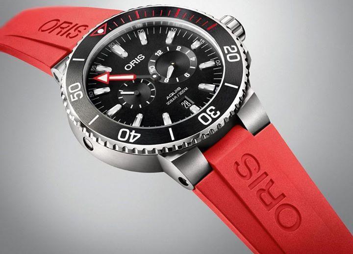 """Oris Regulateur 'Der Meistertaucher"""" La Casa relojera fue pionera en la presentación de un reloj de buceo regulador. El nombre significa """"maestro de buceo"""", y es una pieza excepcional, que dota a los biólogos marinos de la mayor herramienta necesaria para realizar inmersiones con toda seguridad.  #OrisMx"""