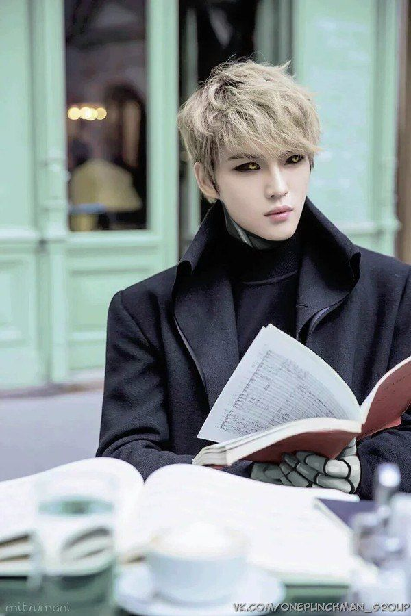 ONE PUNCH MAN Cosplay by Jaejoong HOLY---- SO MUCH YEP IN THIS COMBO #opm #Jaejoong #genos