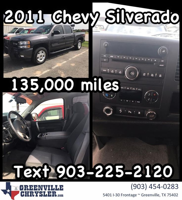2011 Chevy Silverado 1500 LT Z71 AWD crew cab with 135,000 miles!!! Just in!!! Call or text 903-225-2120 for Special Facebook price!!! Stock Number 17G1131A. #CarsForSale #OpenSaturdays #CashCars #FreeQuote #RockwallTexas #RoyseCity #FateTexas #GreenvilleTexas #QuinlanTexas #Chevrolet #Silverado #GreenvilleChrysler www.greenvillechrysler.com  https://deliverymaxx.com/DealerReviews.aspx?DealerCode=J122  #WorkTruck #Chevrolet #RockwallTexas #greenvilleTexas #GreenvilleChryslerJeepDodgeRam