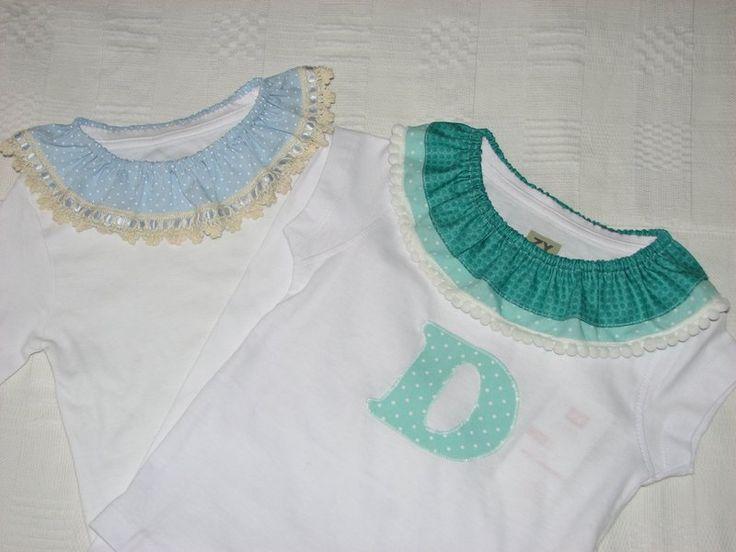 #customização #gola #tshirt #camiseta #bebé