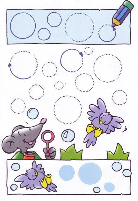 schrijfpatroon muis http://www.pinterest.com/m44ik3/fijne-motoriek-schrijfpatronen/