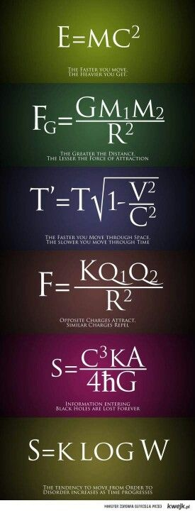 Physics || I suddenly realize my love affair with physics has informed my entire relationship philosophy foundation.