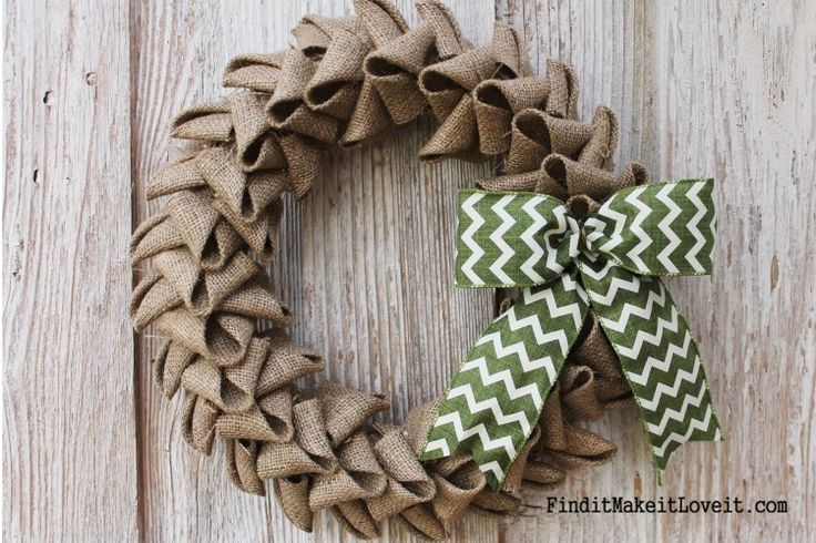 Petal Burlap Wreath   How to Cheat the Perfect Bow November 14, 2014 By: Melanie12 CommentsPetal Burlap Wreath   How to Cheat the Perfect Bow