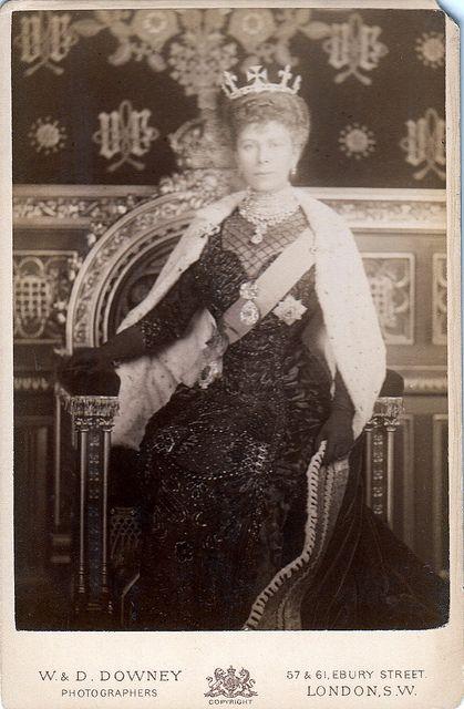 All sizes   Königin Mary von England, Queen of Britain, nee Princess Teck 1867 - 1953   Flickr - Photo Sharing!