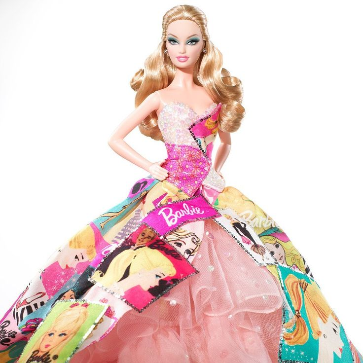 Barbie Hairstyles 8 hairstyles for barbie any doll 2009 50th Anniversary Collector Edition Generations Of Dreams Barbie