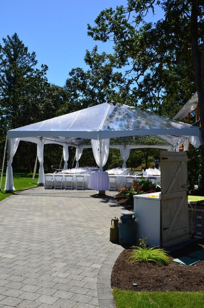 Black & White Party Rentals Parksville BC/Vancouver Island Weddings