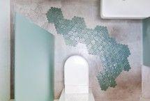 Mooie badkamermat | zelf ontwerpen in gewenste kleur en vorm - waterbestendig - gemaakt van recyclebaar materiaal | ontwerpster ManonJuliette