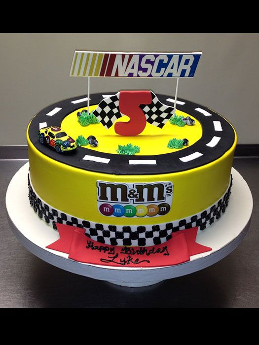 Nascar Birthday Cake Images