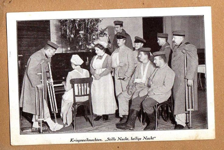 Weihnachts Postkarte Patriotisch I.Weltkrieg mit Tannenbaum 1915 schöne Ansicht