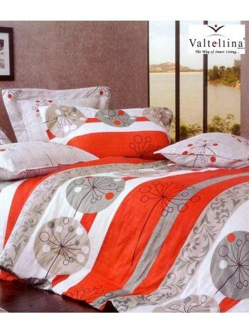 The bright orange colour adds the perfect vibrancy and zest needed to my room!