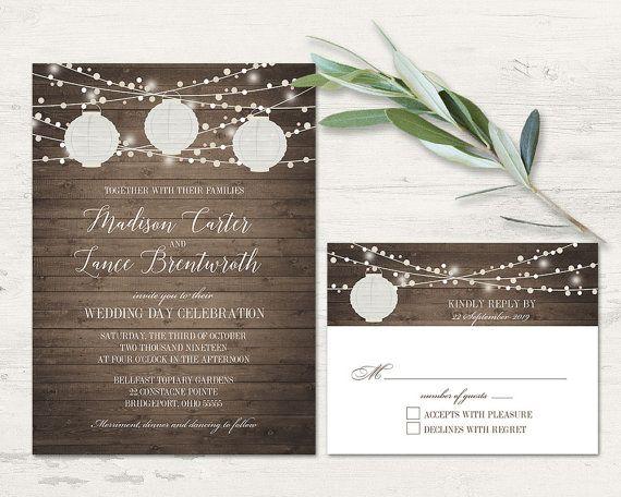 Target Wedding Invitations Kits: 1000+ Ideas About Paper Lantern Wedding On Pinterest
