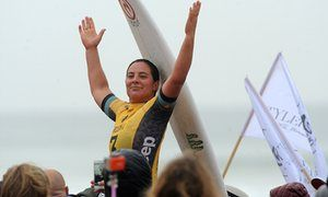 Australia's Tyler Wright wins her first World Surfing Championship