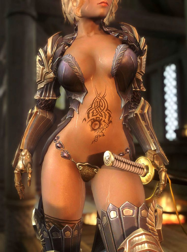 from Remington hot video game characters nude