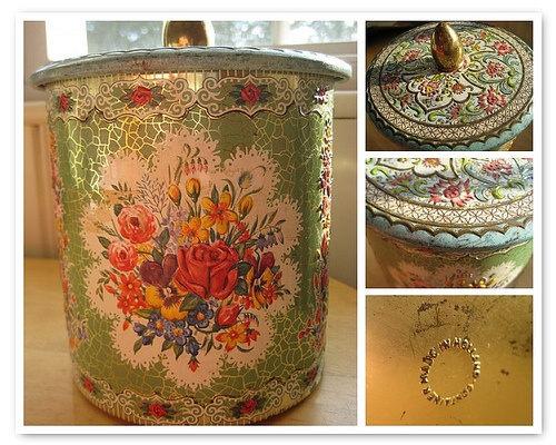 258 Best Daher Tins Images On Pinterest Vintage Tins
