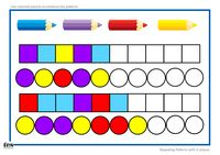 TEACCH/Workstation ideas: Patterns with 3 colours - Resources - TES